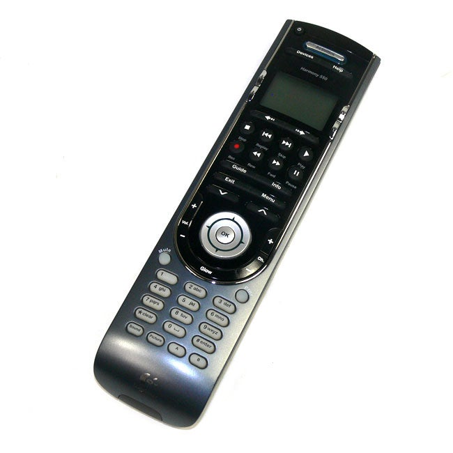 Logitech Harmony 550 Advanced Universal Remote Control (Refurbished)