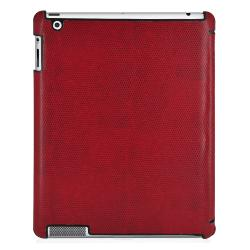 Apple iPad 2 Premium Lizard Print Hybrid Smart Case and Screen Guard