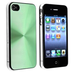 Green Case/ Screen Protector/ Car Charger for Apple iPhone 4S - Thumbnail 1