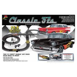 Classic 57's Chevy Nomads Slot Car Racing Set - Thumbnail 0