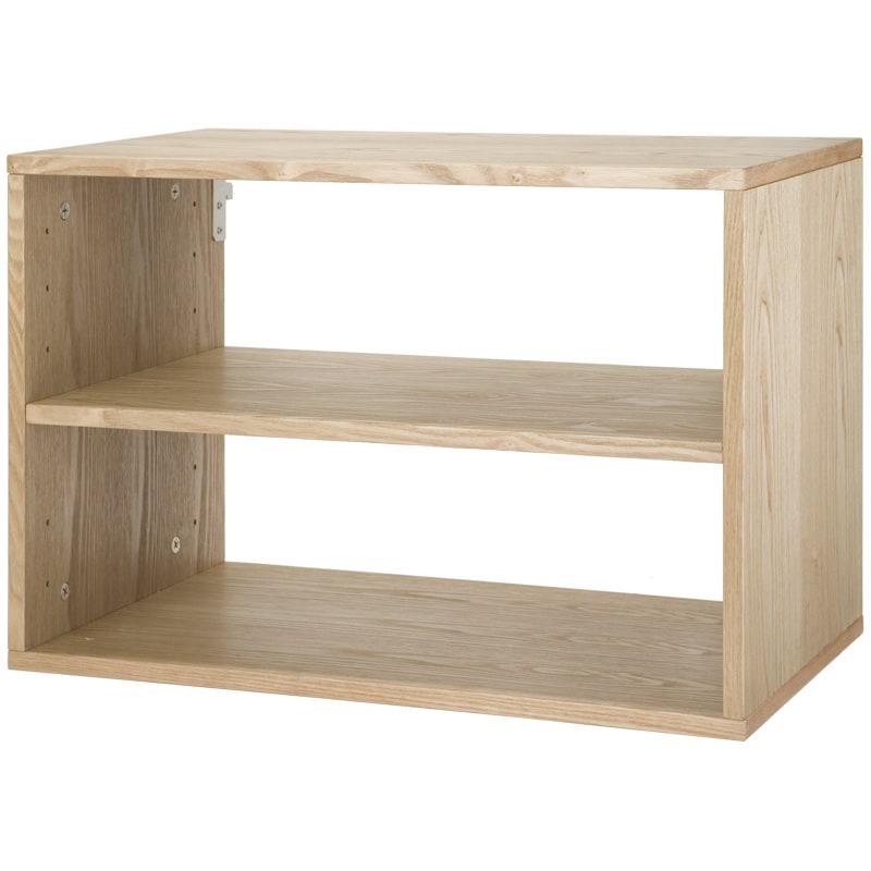 freedomRail Light Oak O-Box Shelf Unit