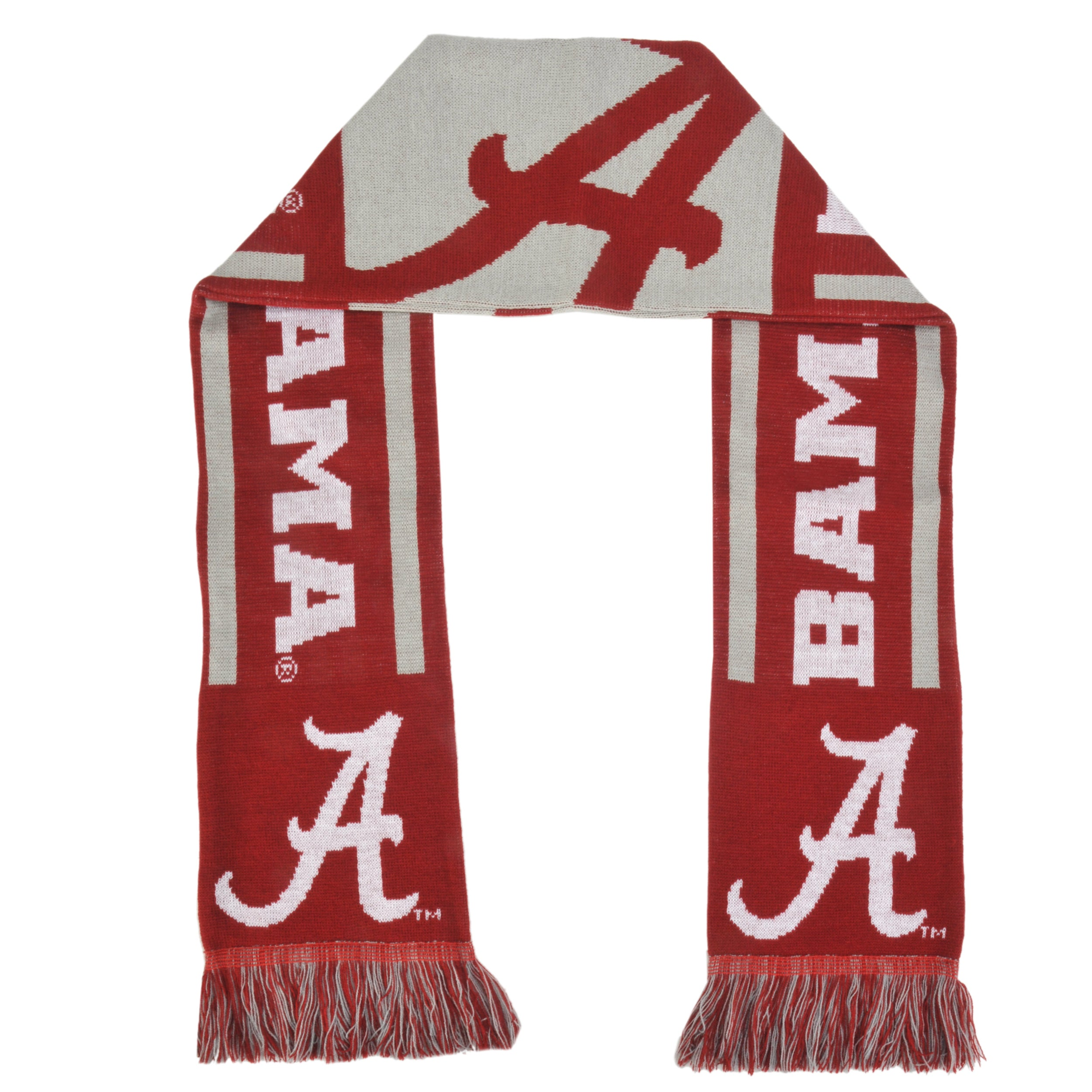 Alabama Crimson Tide Acrylic NCAA Scarf