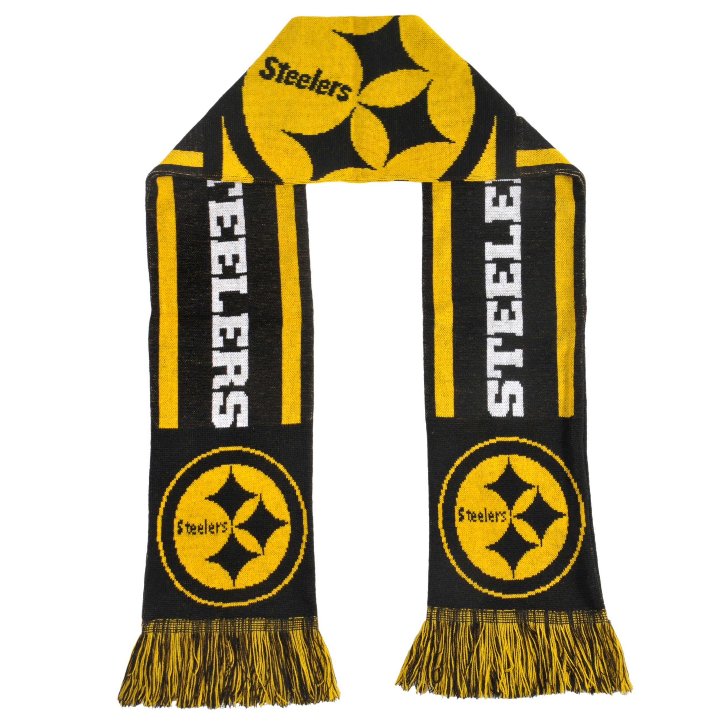 Pittsburgh Steelers Acrylic NFL Scarf