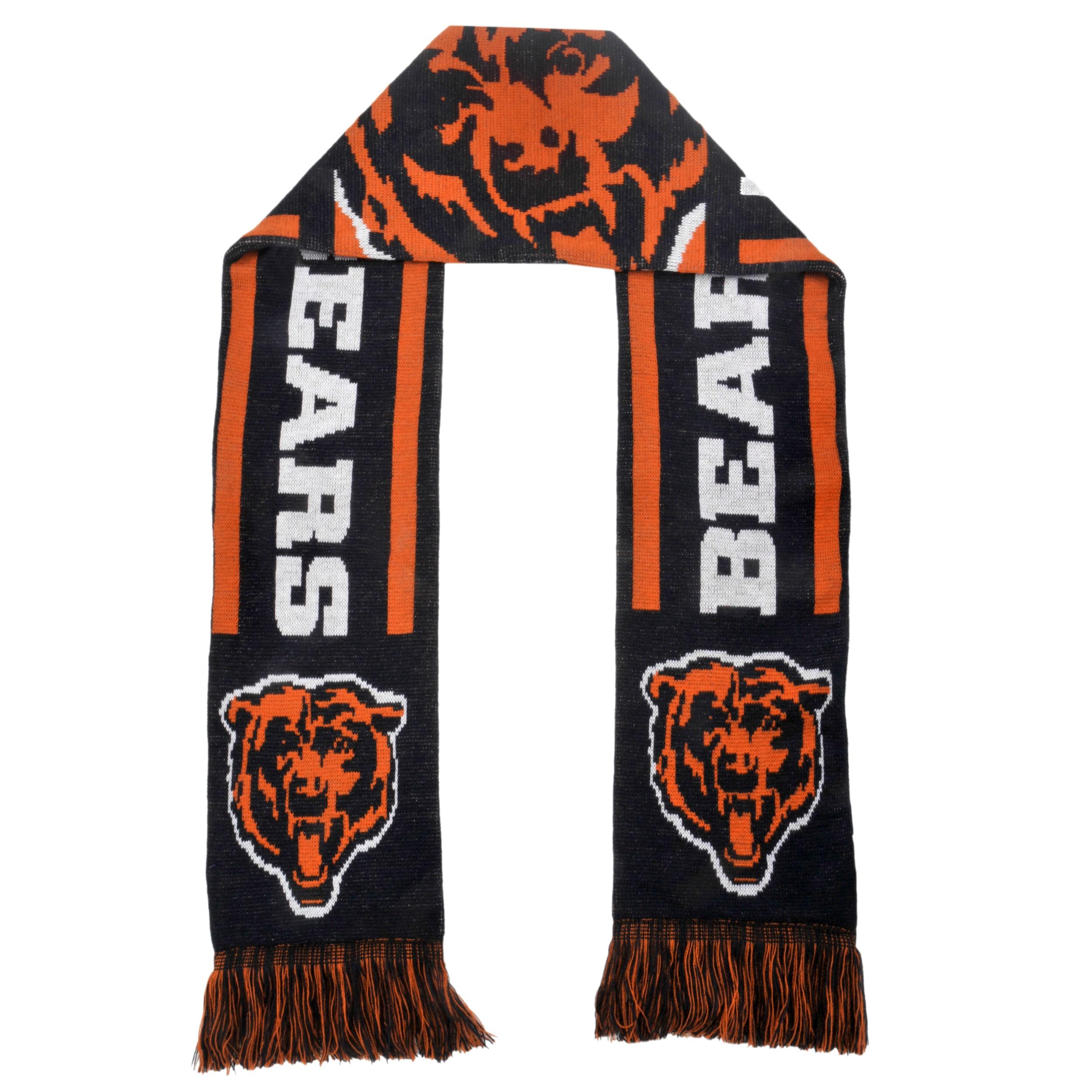 Chicago Bears Acrylic NFL Scarf