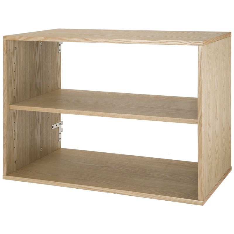 freedomRail Light Oak Big O-Box Shelf Unit