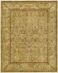 Safavieh Handmade Mahal Light Brown/ Beige N.Z. Wool Rug - 11' x 17'
