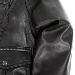 United Face Boy's Premium Lambskin Leather Jacket - Thumbnail 2