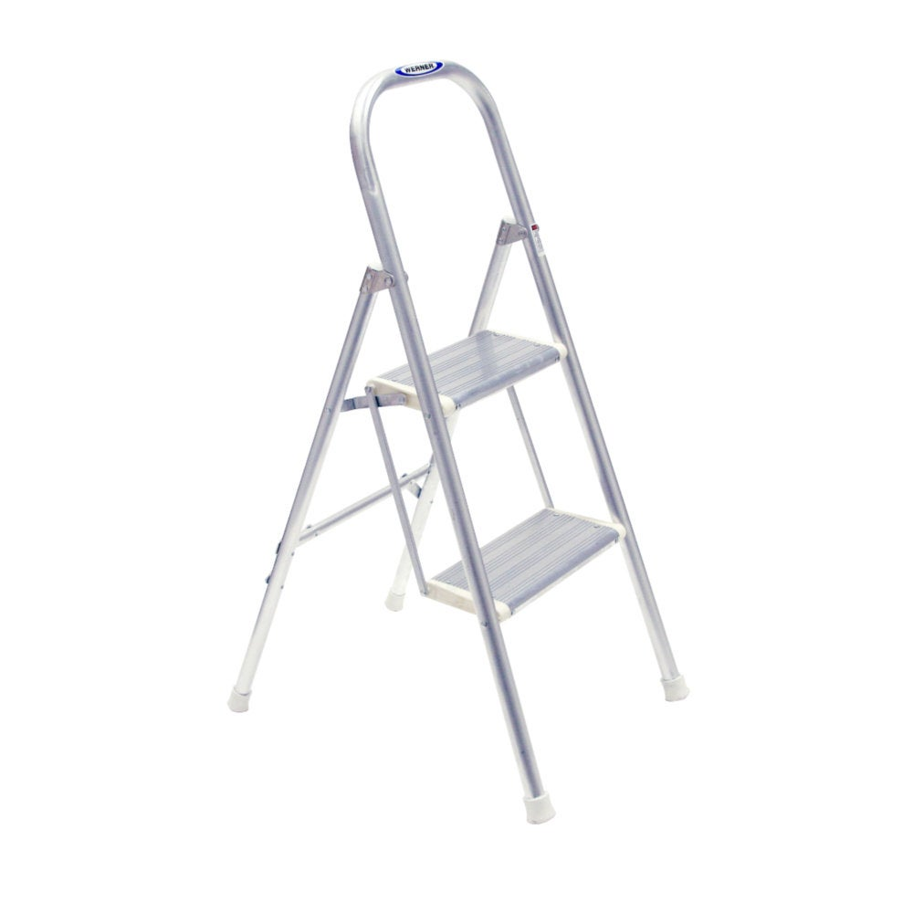 Werner 48 Inch Aluminum Utility Step Ladder Free