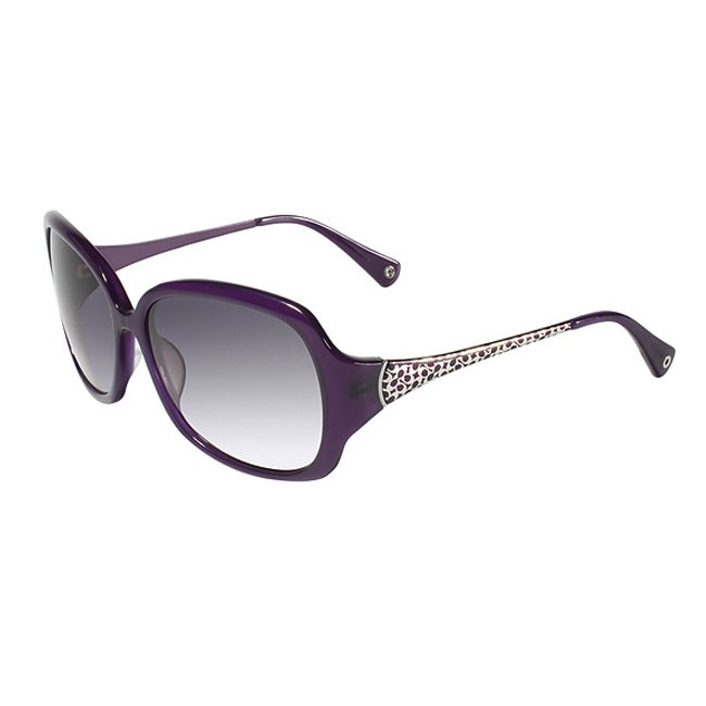 2df4f17ae0 Shop Coach Women s S 2004 Purple Signature Design Sunglasses - Free  Shipping Today - Overstock - 6421837