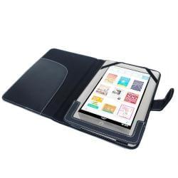 SKQUE Barnes & Noble Nook Color/ Nook Tablet Leather Case - Thumbnail 2