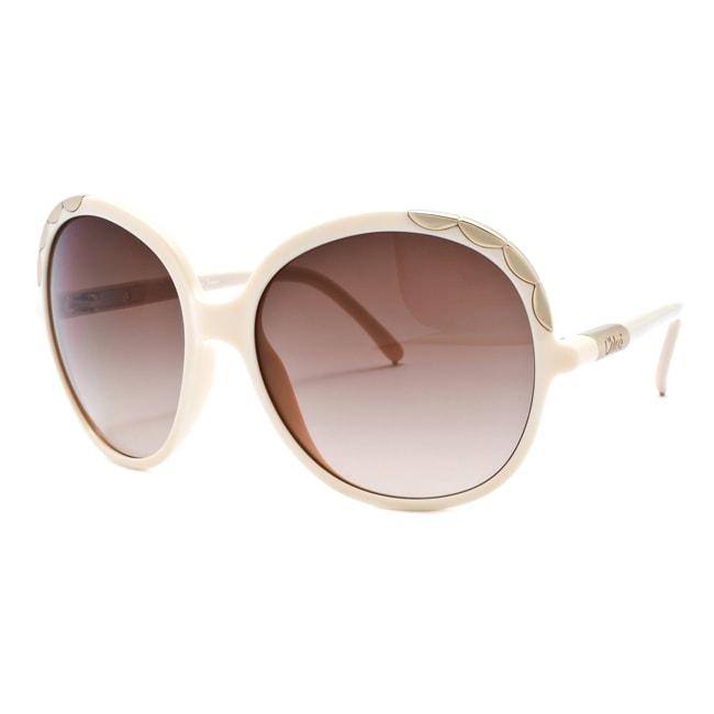 Chloe Women's 'Ernie' Beige Fashion Sunglasses