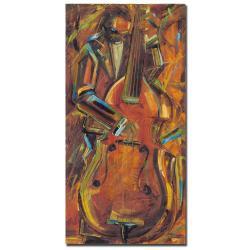 Joarez 'Jazz I' Canvas Art