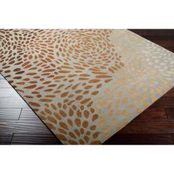 Hand-tufted Tyndall New Zealand Wool/ Viscose Rug (8' x 11')