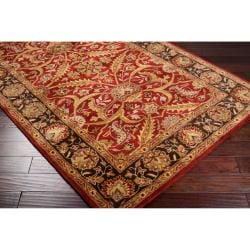 Hand-tufted Ancient Treasures Semi-worsted New Zealand Wool Rug (9' x 13') - Thumbnail 1