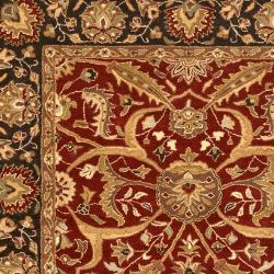 Hand-tufted Ancient Treasures Semi-worsted New Zealand Wool Rug (9' x 13') - Thumbnail 2