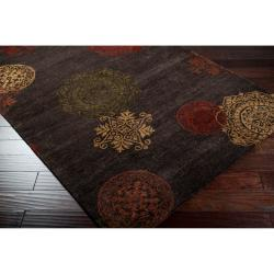 Hand-tufted Selby New Zealand Wool Rug (8' x 11') - Thumbnail 1