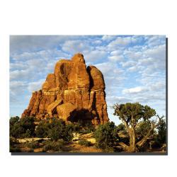 Kurt Shaffer 'Monument' Canvas Art