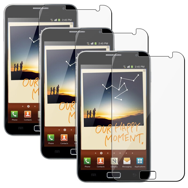 Screen Protector for Samsung N7000 Galaxy Note (Pack of 3)