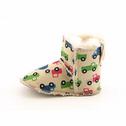 Emu Australia Baby 'Printed Baby Bootie' Shoes - Thumbnail 1