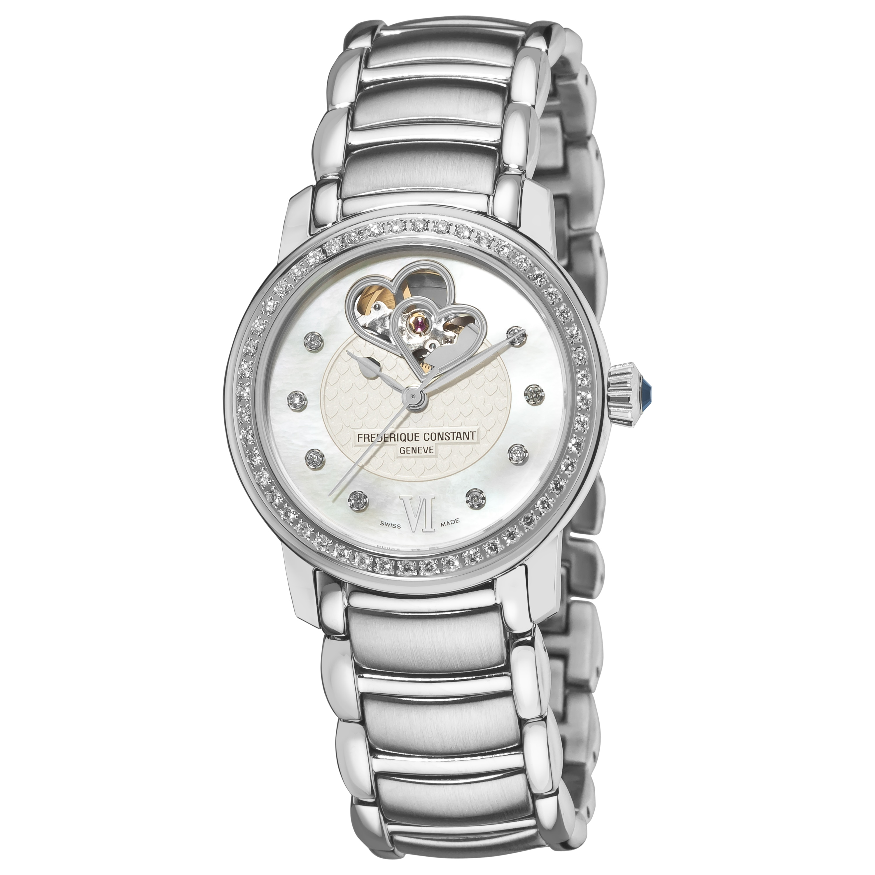 Frederique Constant Women's 'Automatic' Stainless Steel Watch