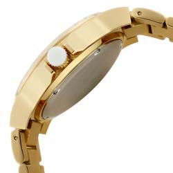 a_line Women's 'Marina' Goldtone Ion-Plated Stainless Steel Watch - Thumbnail 2