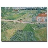 Vincent van Gogh 'Avuvers after the Rain 1890' Canvas Art