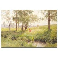 Emile Isenbart 'Landscape' Canvas Art