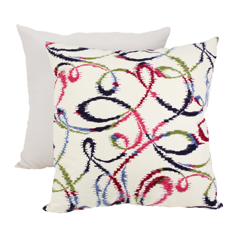 Pillow Perfect Decorative Multicolored Swivel Pillow