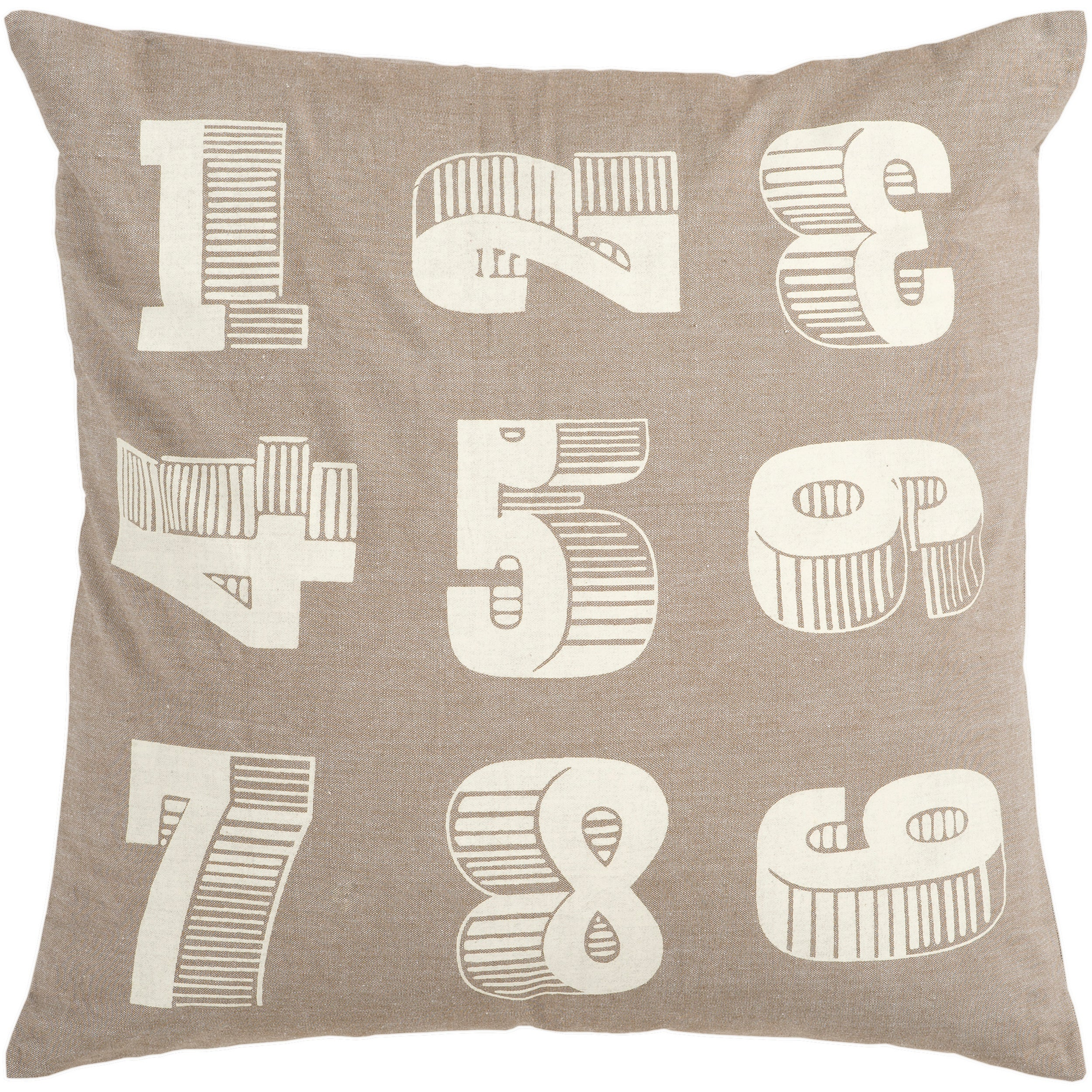 Crass 18-inch Poly Decorative Pillow