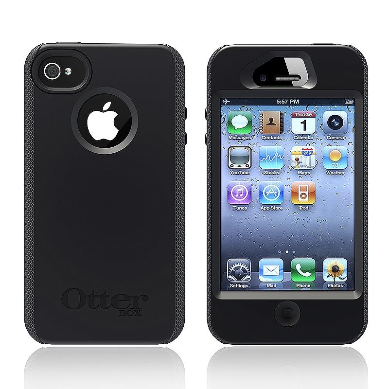 Otter Box Apple iPhone 4/ 4S black impact case APL1-I4SUN-20-E4OTR