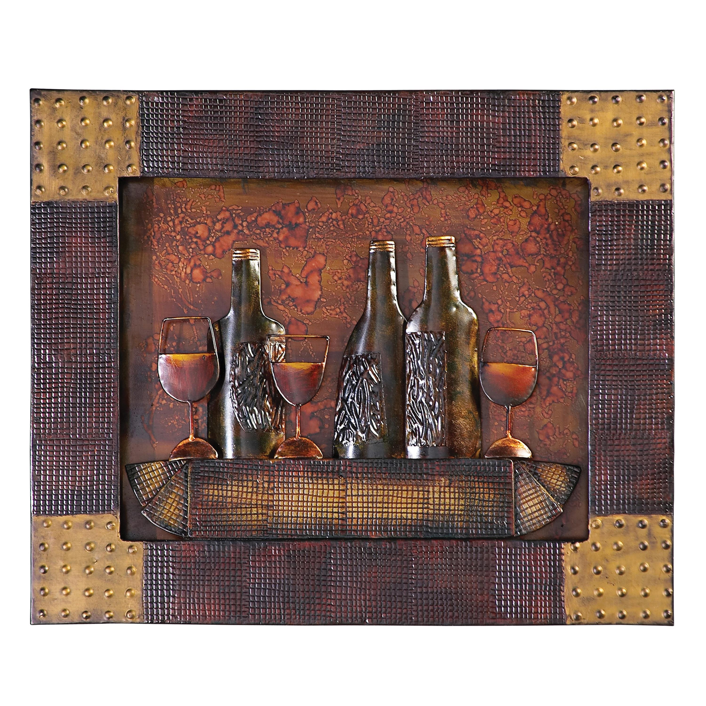 Wine Wall Plaque
