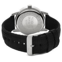 Invicta Men's 'Specialty' Black Nylon Watch - Thumbnail 1