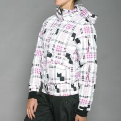Energy Spirit Women's White Snowboard Jacket - Thumbnail 2