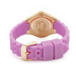 Invicta Women's 'Angel' Light Purple Polyurethane Watch - Thumbnail 1