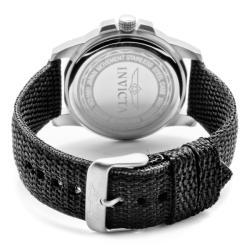 Invicta Men's 'Specialty' Black Nylon Watch