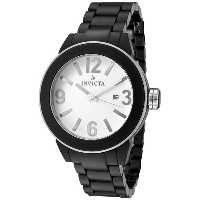 Invicta Women's 'Ceramics' Black Ceramic Watch