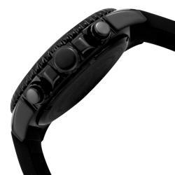 Invicta Men's 'Pro Diver' Black Polyurethane Watch - Thumbnail 2