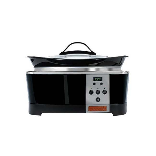 Crockpot Designer Series 6-quart Count-down Oval Slow Cooker - Thumbnail 0
