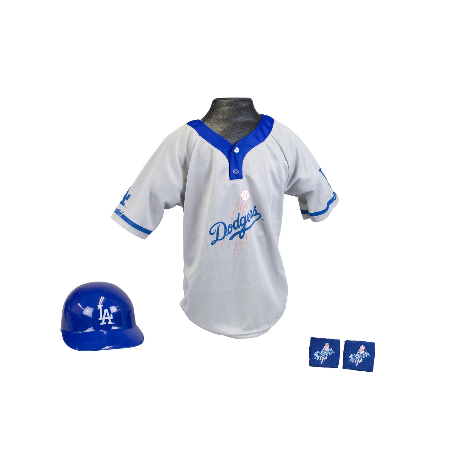 Franklin Sports Kids MLB Los Angeles Dodgers Team Uniform Set