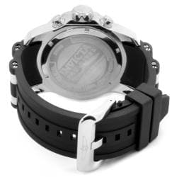Invicta Men's 'Pro Diver' Black Strap Watch - Thumbnail 1