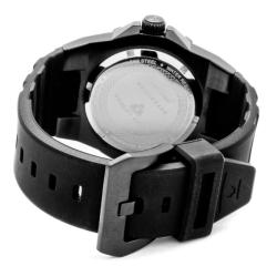 Swiss Legend Men's 'Expedition' Black Silicon Watch - Thumbnail 1