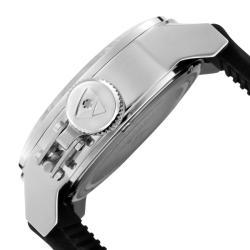 Swiss Legend Men's 'Submersible' Black Silicon Watch - Thumbnail 2