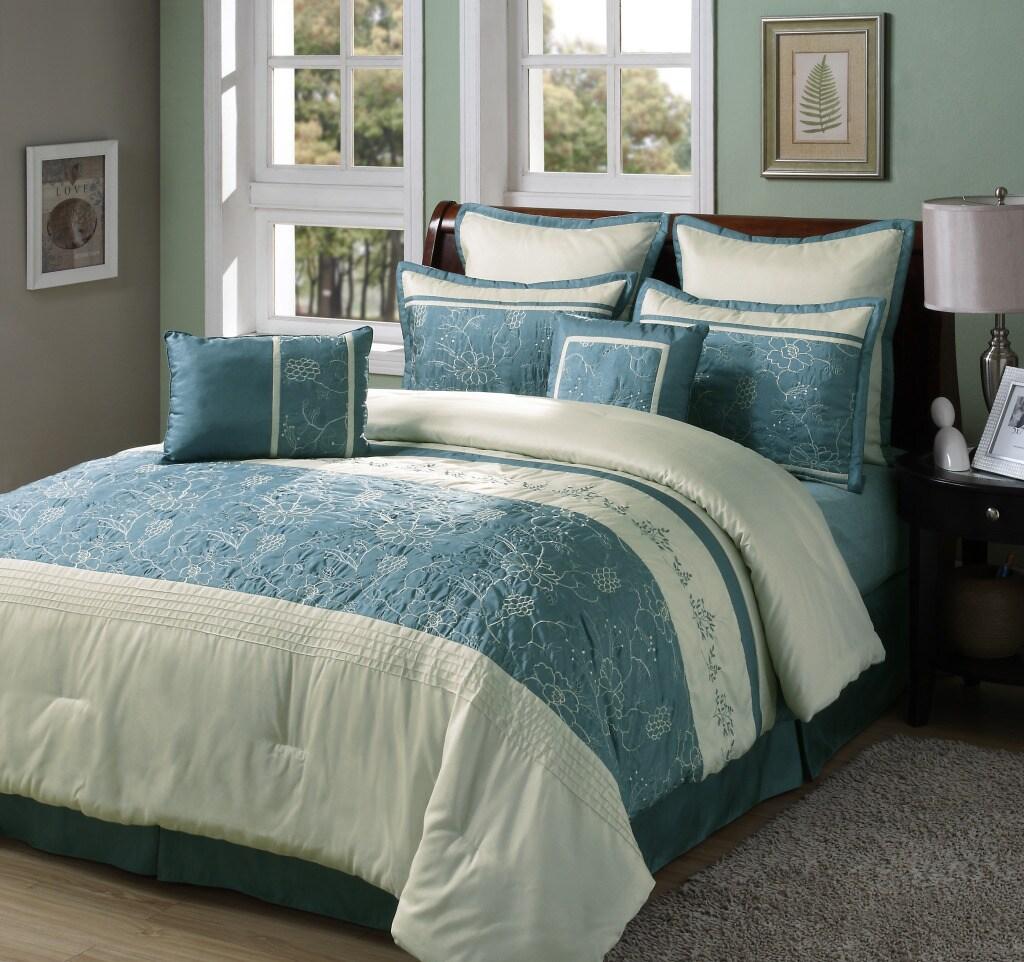 Bellino 8-piece King-size Comforter Set