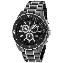 Swiss Legend Men's 'Identity' Black Ceramic/Stainless Steel Watch