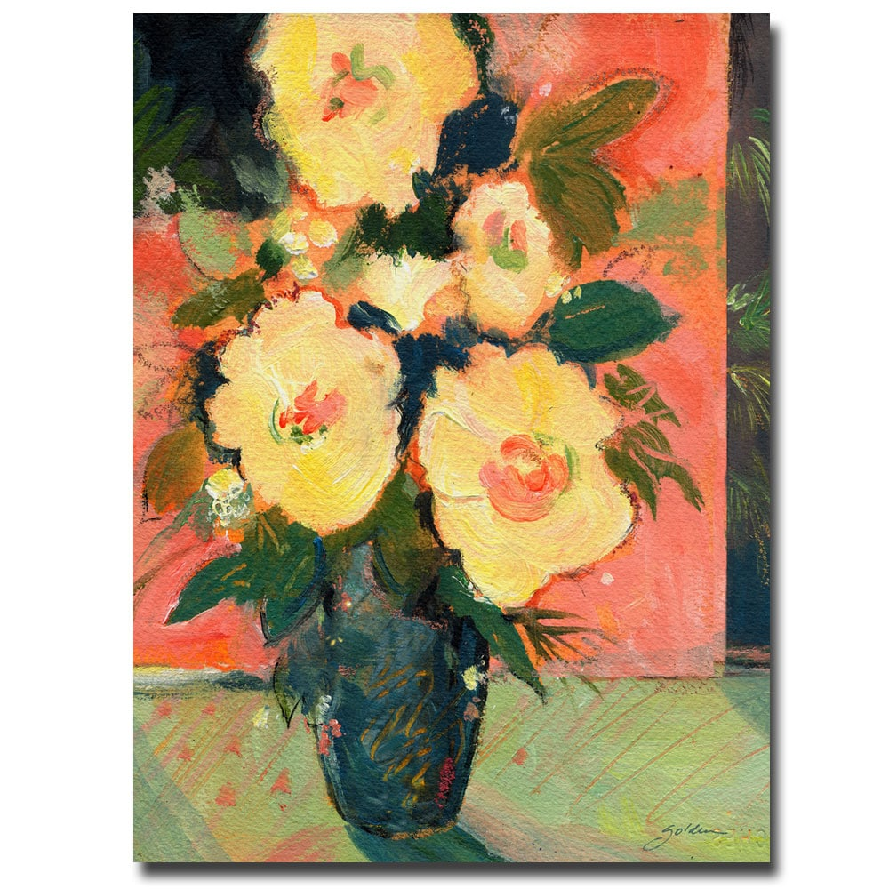 Sheila Golden \'Tropical Blooms\' Canvas Art - Free Shipping Today ...