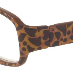 Urban Eyes Women's 'UE2979' Rectangular Reading Glasses - Thumbnail 1