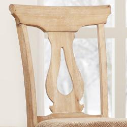 Provence Key Hole Back Dining Chair (Set of 2) - Thumbnail 1