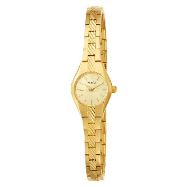 Caravelle by Bulova Women's Champagne Dial Bracelet Watch
