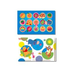 Neat Solutions Winnie the Pooh Table Topper (Pack of 18)