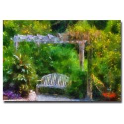 Lois Bryan 'A Restful Retreat' Canvas Art